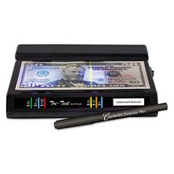 Drimark Tri Test Counterfeit Bill Detector, UV with Pen, 7 x 4 x 2 1/2