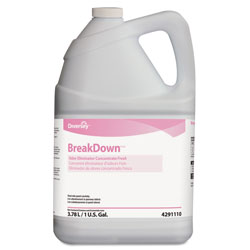 Diversey Breakdown Odor Eliminator, Fresh Scent, Liquid, 1 gal Bottle