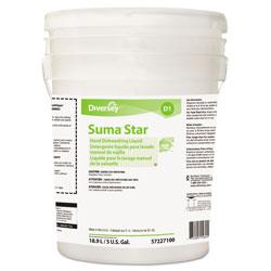 Suma® Star D1 Hand Dishwashing Detergent, Unscented, 5 Gallon Pail