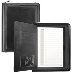 At-A-Glance Windsor QuickView Refillable Planner, 5 1/2 x 8 1/2, Black