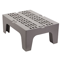 Cambro Dunnage Rack with Slotted Top 30 in Speckled Gray