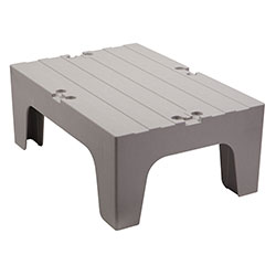 Cambro Dunnage Rack with Solid Shelves Top 30 in Speckled Gray