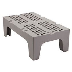 Cambro Dunnage Rack with Slotted Top 36 in Speckled Gray