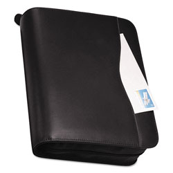 Daytimer Verona Leather Starter Set, 11 x 8 1/2, Black Cover