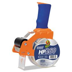 Henkel Consumer Adhesives Bladesafe Antimicrobial Tape Gun with Tape, 3 in Core, Metal/Plastic, Orange