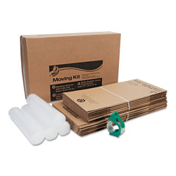 Duck® Moving Kit, 6 Medium Boxes, 6 Large Boxes, 4 Rolls of Bubble Wrap, 1 Roll HD Clear Packing Tape