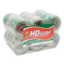 Duck® Heavy-Duty Carton Packaging Tape, 3 in Core, 1.88 in x 55 yds, Clear, 24/Pack