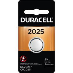 Duracell Coin Button Battery, 2025, 3V, 4/EA, Black