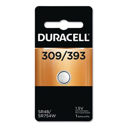 Duracell Button Cell Battery, 309/393, 1.5V