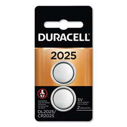 Duracell Lithium Coin Battery, 2025, 2/Pack