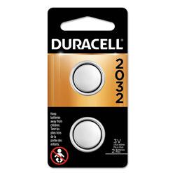 Duracell Lithium Coin Battery, 2032, 2/Pack