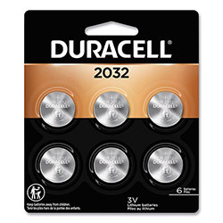 Duracell Specialty High-Power Lithium Batteries, 2032, 3 V, 6/Pack