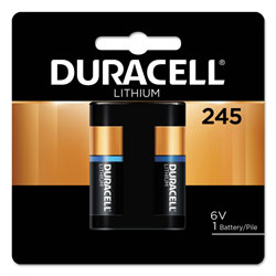 Duracell Specialty High-Power Lithium Battery, 245, 6V
