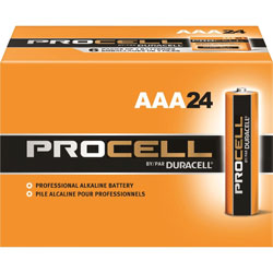 Duracell PC2400BKD Procell Alkaline Battery, AAA