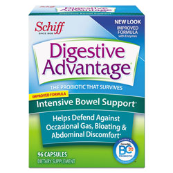 Digestive Advantage® Probiotic Intensive Bowel Support Capsule, 96 Count, 36/Carton