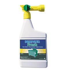 Suma® Dumpster Fresh, Floral, 32 oz Spray Bottle, 4/Carton