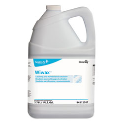 Diversey Wiwax Cleaning and Maintenance Solution, Liquid, 1 gal