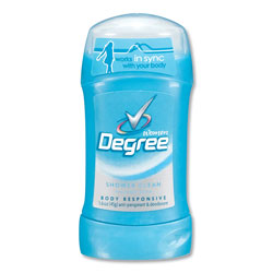 Degree Women Invisible Solid Anti-Perspirant/Deodorant, Shower Clean, 1.6 oz, 12/Carton
