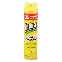 Diversey Endust Multi-Surface Dusting and Cleaning Spray, Lemon Zest, 6/Carton