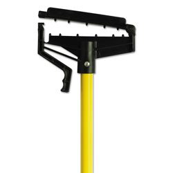 O Cedar Quick-Change Mop Handle, 60 in, Fiberglass, Yellow, 6/Carton