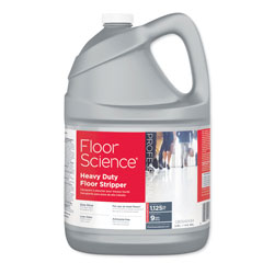 Diversey Floor Science Heavy Duty Floor Stripper, Liquid, 1 gal Bottle, 4/Carton