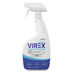 Diversey Virex All-Purpose Disinfectant Cleaner, Citrus Scent, 32 oz Spray Bottle, 8/CT