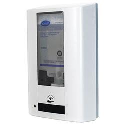 Diversey Intellicare Hybrid Dispenser for Soap/Sanitizer, White, 13.38 x 13.38 x 12.24