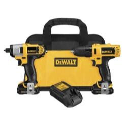 Dewalt Tools 12 Volt Lithium Ion Drill/Impact Combo Kit