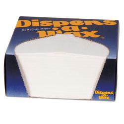 Dixie Dispens-A-Wax Waxed Deli Patty Paper, 4 3/4 x 5, White, 1000/Box