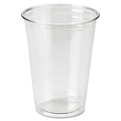 Dixie Clear Plastic PETE Cups, Cold, 10oz, WiseSize, 25/Pack, 20 Packs/Carton