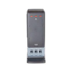 Dixie SmartStock Tri-Tower Dispenser, Fork/Knife/Spoon, 13.16 x 16.07 x 31.03, Black/Gray
