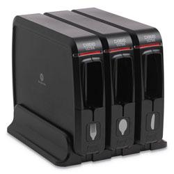 Dixie SmartStock Wrapped Cutlery Dispenser, 12.44 in x 11.17 in x 10 1/2 in, Black