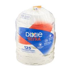 Dixie Pathways Heavyweight Paper Bowls, WiseSize, 12oz, 125/Pack