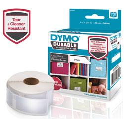 Dymo LW Durable Multi-Purpose Labels, 1 in x 2.12 in, 160/Roll