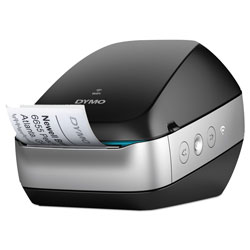 Dymo LabelWriter Wireless Black Label Printer, 71 four-line labels/min