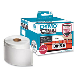 Dymo LW Durable Multi-Purpose Labels, 2.31 in x 4 in, White, 300/Roll
