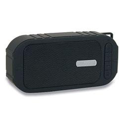 Billboard® Water-Resistant Bluetooth Speaker, Black