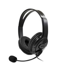 Billboard® Gaming Headsets, Binaural, Over the Head, Black