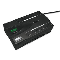 Tripp Lite ECO Series Energy-Saving Standby UPS, USB, LCD Display, 12 Outlets, 850 VA, 420J