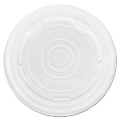 Eco-Products EcoLid Renew and Comp Food Container Lids for 12 oz, 16 oz, 32 oz, 50/Pack, 10 Packs/Carton