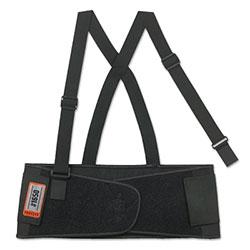 Ergodyne ProFlex 1650 Economy Elastic Back Support, Small, Black