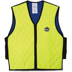 Ergodyne Evaporative Cooling Vest, Large, Lime