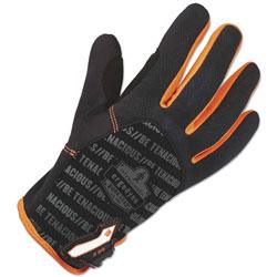 Ergodyne ProFlex 812 Standard Utility Gloves, Black, Small, 1 Pair