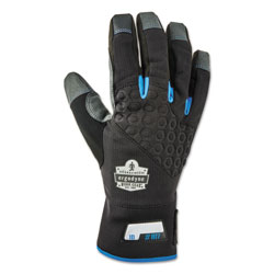 Ergodyne Proflex 817 Reinforced Thermal Utility Gloves, Black, Small, 1 Pair