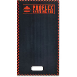 Ergodyne ProFlex 385 Large Kneeling Pad, 16 x 28 x 1, Black/Orange