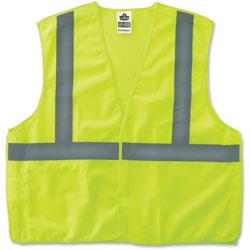 Ergodyne Econo Breakaway Vest, CLS-2, L/XL, Lime