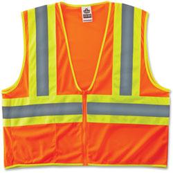 Ergodyne Two-Tone Vest, CLS-2, 2X/3X, Orange