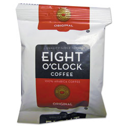 Eight O'Clock Original Ground Coffee Fraction Packs, 1.5 oz, 42/Carton