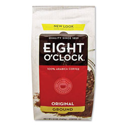 Eight O'Clock Original Ground Coffee, 12 oz Bag