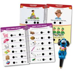 Educational Insights Kindergarten Reading Hot Dots Set, 100 Lessons